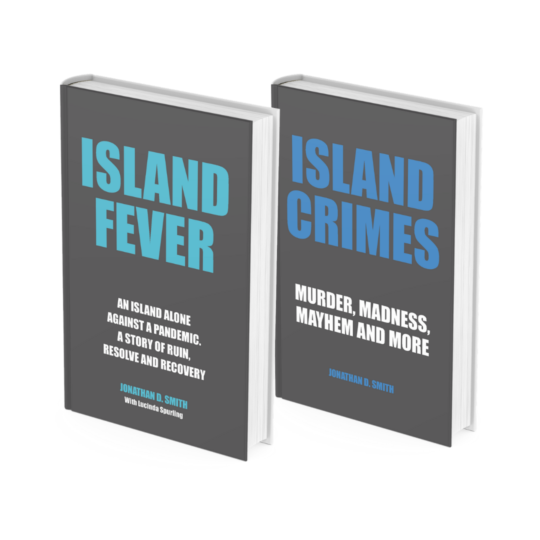 Books by Author Jonathan D. Smith - ISLAND FEVER and ISLAND CRIMES
